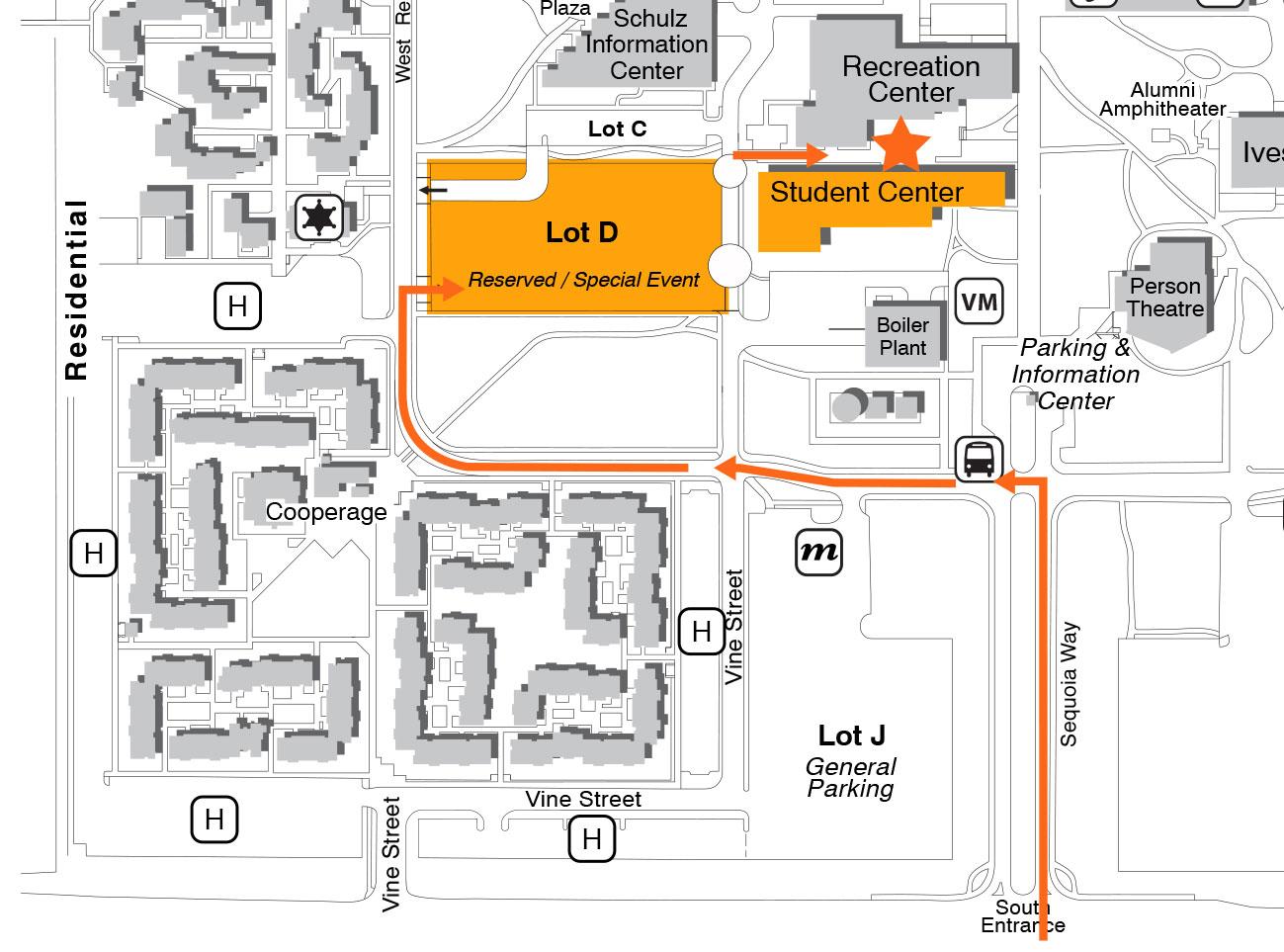 Santa Rosa Metro Chamber of Commerce - Important: Gala parking ...